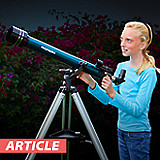 What's the best telescope for kids? at Orion Store